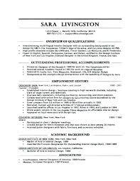 Objective For Job Resume Interesting Interior Design Resume Objective Examples For Nurses Platformeco