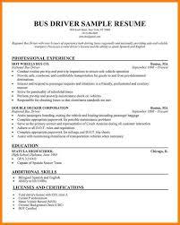 Driver Sample Cv 9 Heavy Driver Cv Format Pear Tree Digital