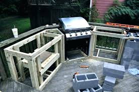 small outdoor grill how to build an outdoor kitchen with cinder blocks kitchen small outdoor kitchen