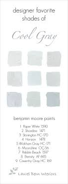 light gray paint colors9 Fabulous Benjamin Moore Cool Gray Paint Colors  laurel home
