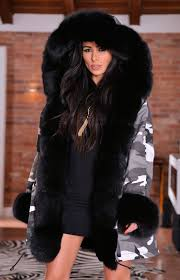american parka with fur american army parka with fox fur coat