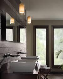 bathroom vanity pendant lighting. Best Pendant Lighting Bathroom Vanity For Awesome Nuance : Casual Window On Plain Wall Paint Closed I