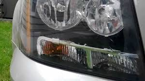 07 Tahoe Daytime Running Light Bulb How To Remove Replace Headlight Bulb In Chevy Tahoe 2007 2008