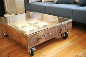 glass coffee table with storage decoration glass top coffee table with storage contemporary en rustic in