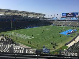 La Chargers Seating Chart Dignity Health Sports Park Section 338 Los Angeles
