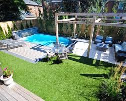 Backyard Pool Design Ideas Set