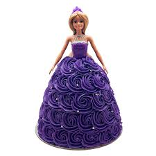 Barbie Purple Dream Dress Doll Cake The Cupcake Queens