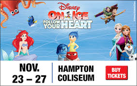 Disney On Ice Presents Follow Your Heart Hampton Coliseum