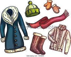 fashion boots drawing. set of warm winter clothes and accessories. fashionable clothes. scarf, hat fashion boots drawing g
