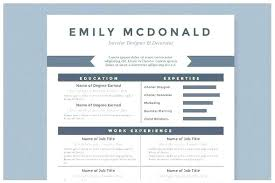 blue modern resume template modern resume template word download cv hr coordinator skincense co