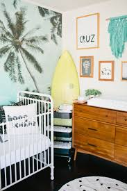 A beach inspired baby boy nursery designed by Beijos Event's Jacquelyn  Kazas for her son Cruz