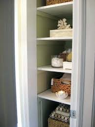 beautiful bathroom closet shelving with linen organization tricks how to organize your ideas cool
