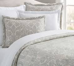 samantha damask sateen duvet cover sham pottery barn regarding cotton sets prepare 7