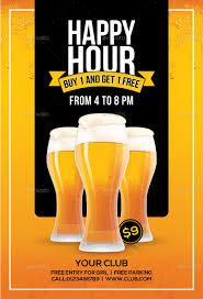 Happy Hour Flyer Happy Hour