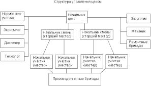 БОЛЬШАЯ НАУЧНАЯ БИБЛИОТЕКА Курсовая работа Организация  Рис 3 Структура формовочного цеха