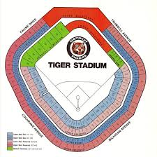 Detroit Tigers Seating Chart Old Tiger Stadium Demographics Tiger Stadium Detroit