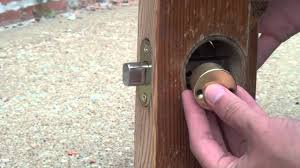 Door Knobs 2 inch backset door knobs pictures : Installing a Double Cylinder Deadbolt with a Two-Inch Backset (for ...