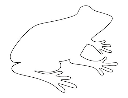 tree frog template frog printable coloring pages printable coloring pictures of frogs