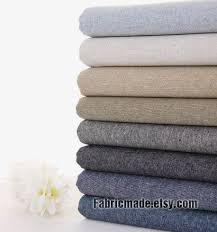 131 best dress fabric images on Pinterest | Cotton textile, Flower ... & Vintage Cotton Linen Fabric Solid Grey Brown Navy by fabricmade, $7.20 Adamdwight.com