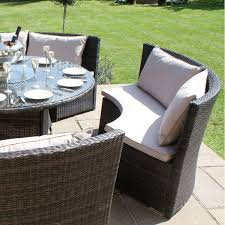 maze rattan garden dallas sofa set