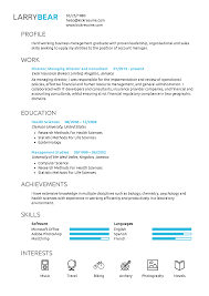 Kickresume Edu Perfect Resume And Cover Letter Straight Out Of College