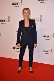 They have a son and a daughter together. Laurence Ferrari Cesar Film Awards 2018 In Paris Celebmafia