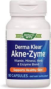 Enzymatic Therapy Derma Klear Akne-zyme, 90 ... - Amazon.com