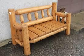 diy outdoor log furniture. DIY Outdoor Log Furniture Plans Diy D