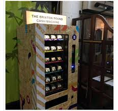 Starbucks Vending Machine Beauteous Starbucks Coffee Vending Machines New The Brixton Pound Money That