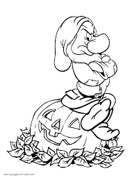 Small Picture Halloween Coloring Pages Disney Baby Coloring Coloring Pages