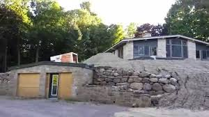 Houses Built Underground Amazing House With Underground Garage Youtube