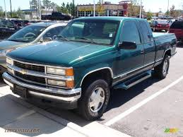 1997 Chevrolet C/K K1500 Extended Cab 4x4 in Emerald Green ...
