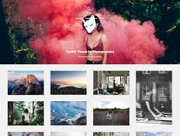 Tumblr Photography Themes Time Creative Portfolio Tumblr Theme