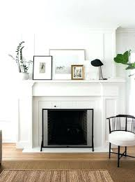 White fireplace mantel surround White Molding Simple Fireplace Surround Mantels And Surrounds Ideas Best On Wood White Mantel Hearth Cover Cocheconectadoco White Fireplace Mantel Surround Cocheconectadoco