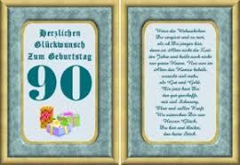 Geburtstagskarten 90 Geburtstag