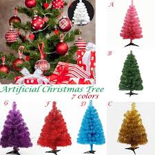 60cm artificial tree plastic snowflake xmas tree new year home ornaments desktop decorations gl ornament gl