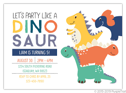 Dinosaur Birthday Invitation Party Like A Dinosaur Birthday Party Invitation