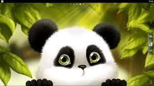 Cute Panda Desktop Wallpaper, Kung Fu