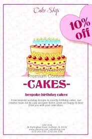 Cafeteria Bakery Theme Cake Website Template Shop Free Birthday