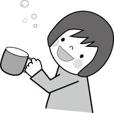 マスクうがい手洗いインフルエンザ花粉症無料イラストフリー素材