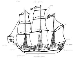 Bateau Navire 95 Transport Coloriages Imprimer