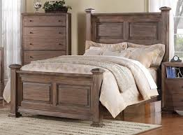 Distressed White Wood Bedroom Furniture