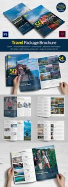 travel brochure templates sample example format travel package agency brochure design in psd and id