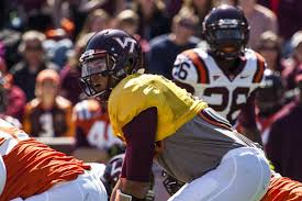 Virginia Tech Fall Camp Opens Depth Chart Released Weights
