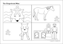 Small Picture Gingerbread Man Teaching Resources Story Sack Printables