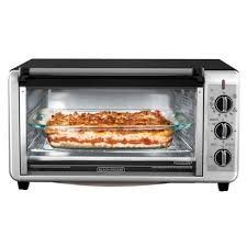 BLACK + DECKER Extra <b>Wide</b> Toaster Oven in <b>Stainless Steel</b> ...