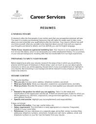 Objective For Resume For Students Objectives In Resumes Career