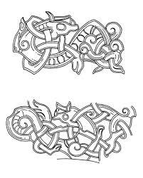 Viking Patterns Inspiration Viking Artistic Development And Stylistic Influences On Later