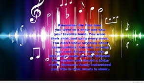 Band Quotes Custom Musical Quote On Wallpaper 48