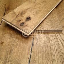 190mm distressed antique golden engineered oak wood flooring 20 6mm thick